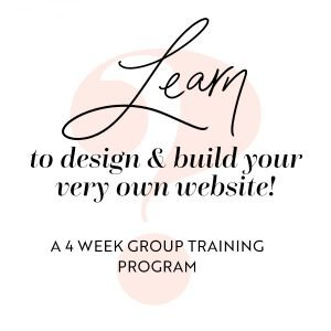 Learn to design & build your very own website